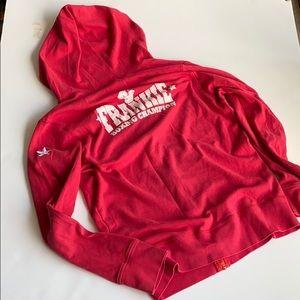 Comfy zipper hoodie by Frankie Morello